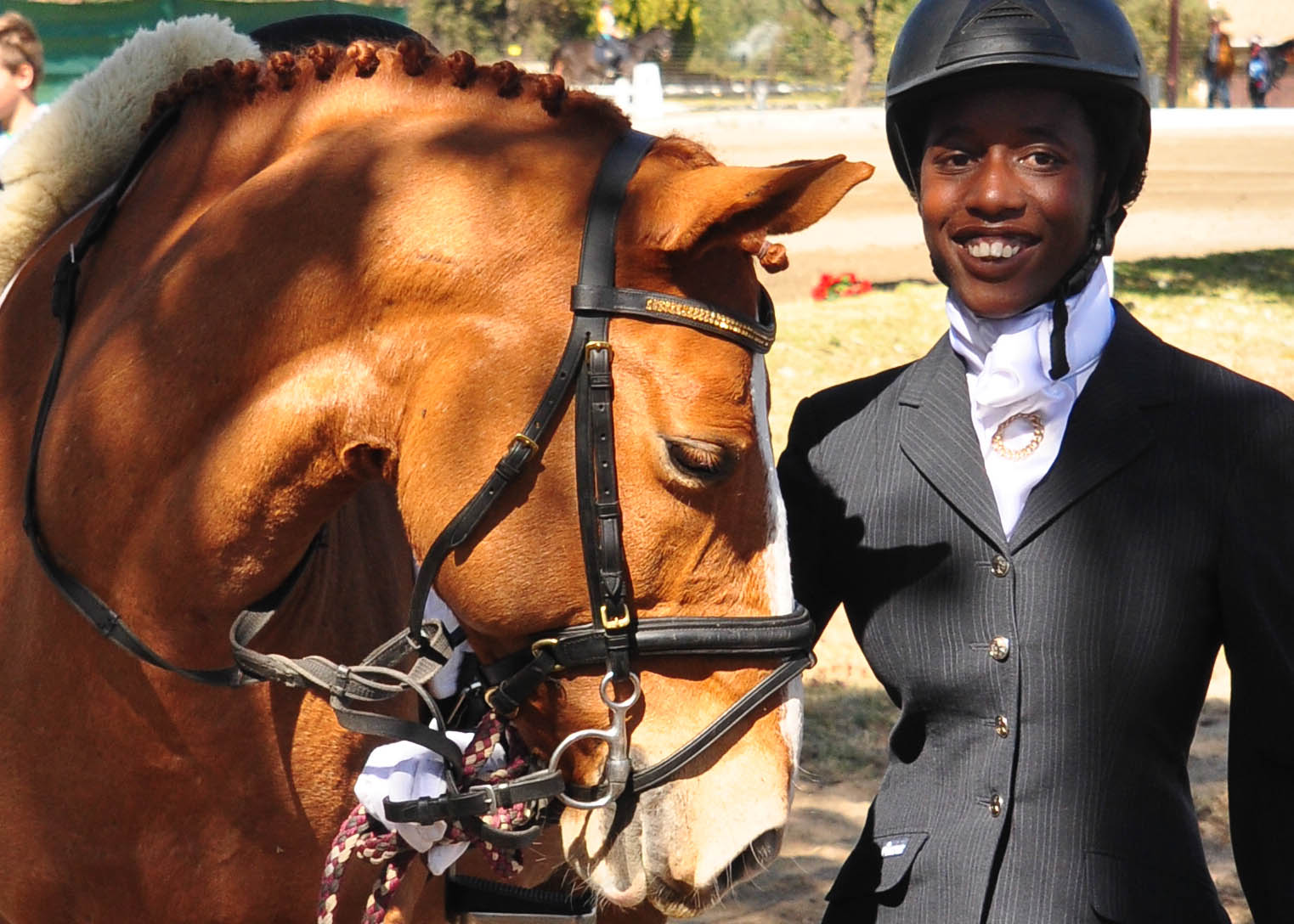 touching sabc interview of our paralympian dressage prospect touching sabc interview of our paralympian dressage prospect tamsin mbatsha bouwer e questrian focus