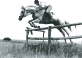 A young Ernst in full flight