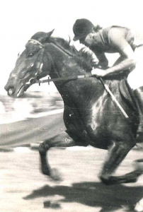 Young Ernst working at speed