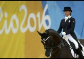 Tanya and Ramoneur at the Olympics