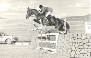 David on Icarus competing in South West Africa